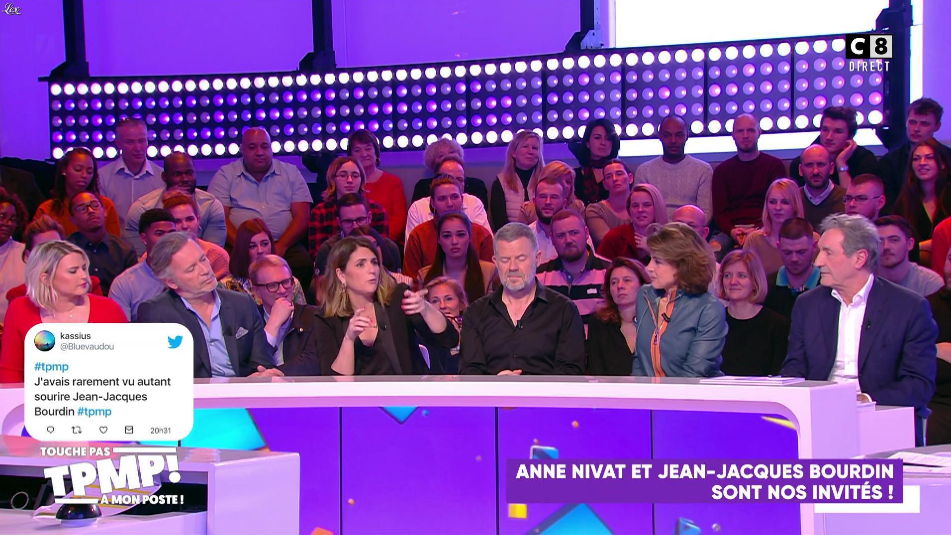 Anne Nivat dans Touche pas à mon Poste. Diffusé à la télévision le 27/01/20.