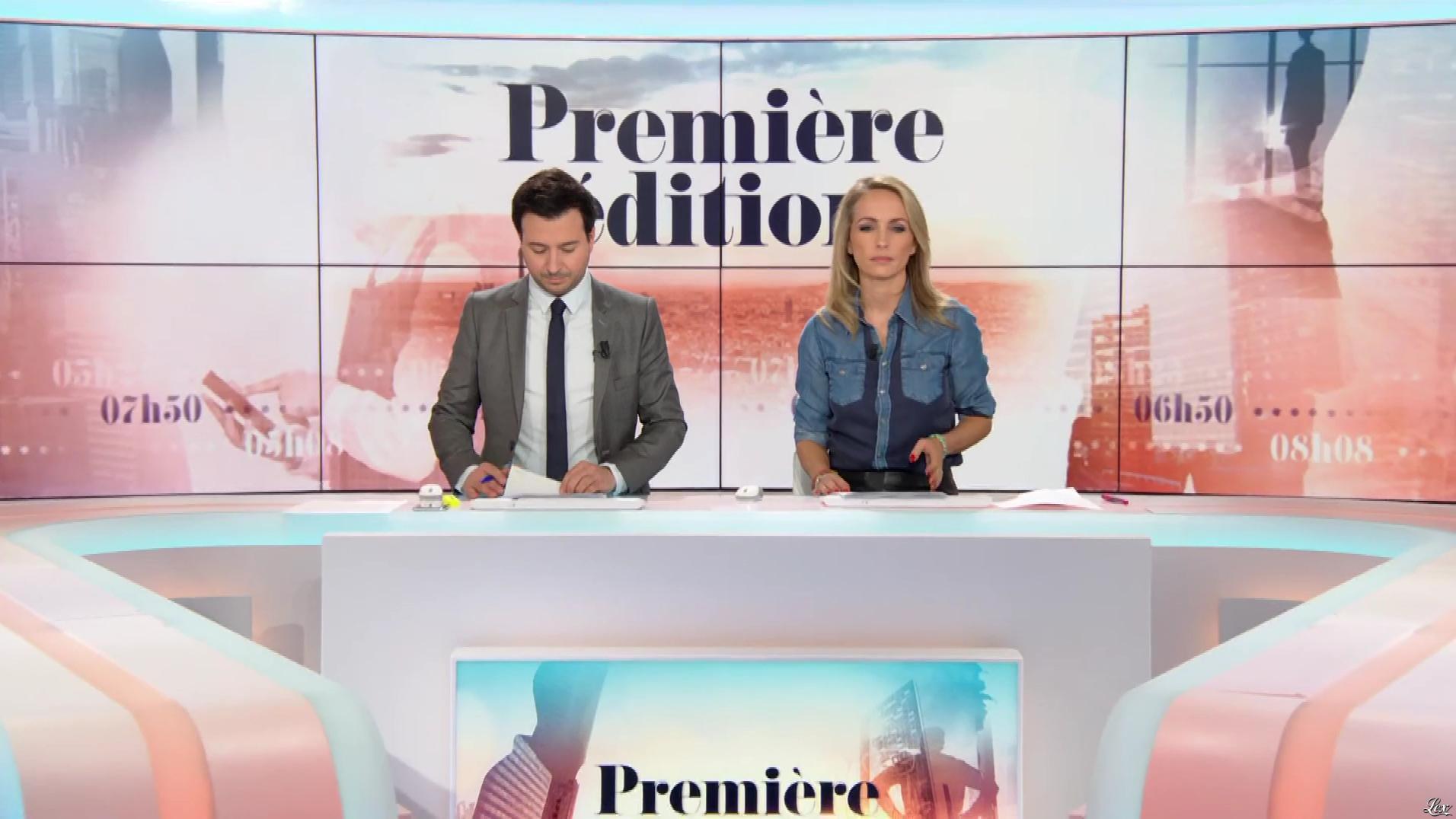 Anne Seften dans Première Edition. Diffusé à la télévision le 22/10/19.
