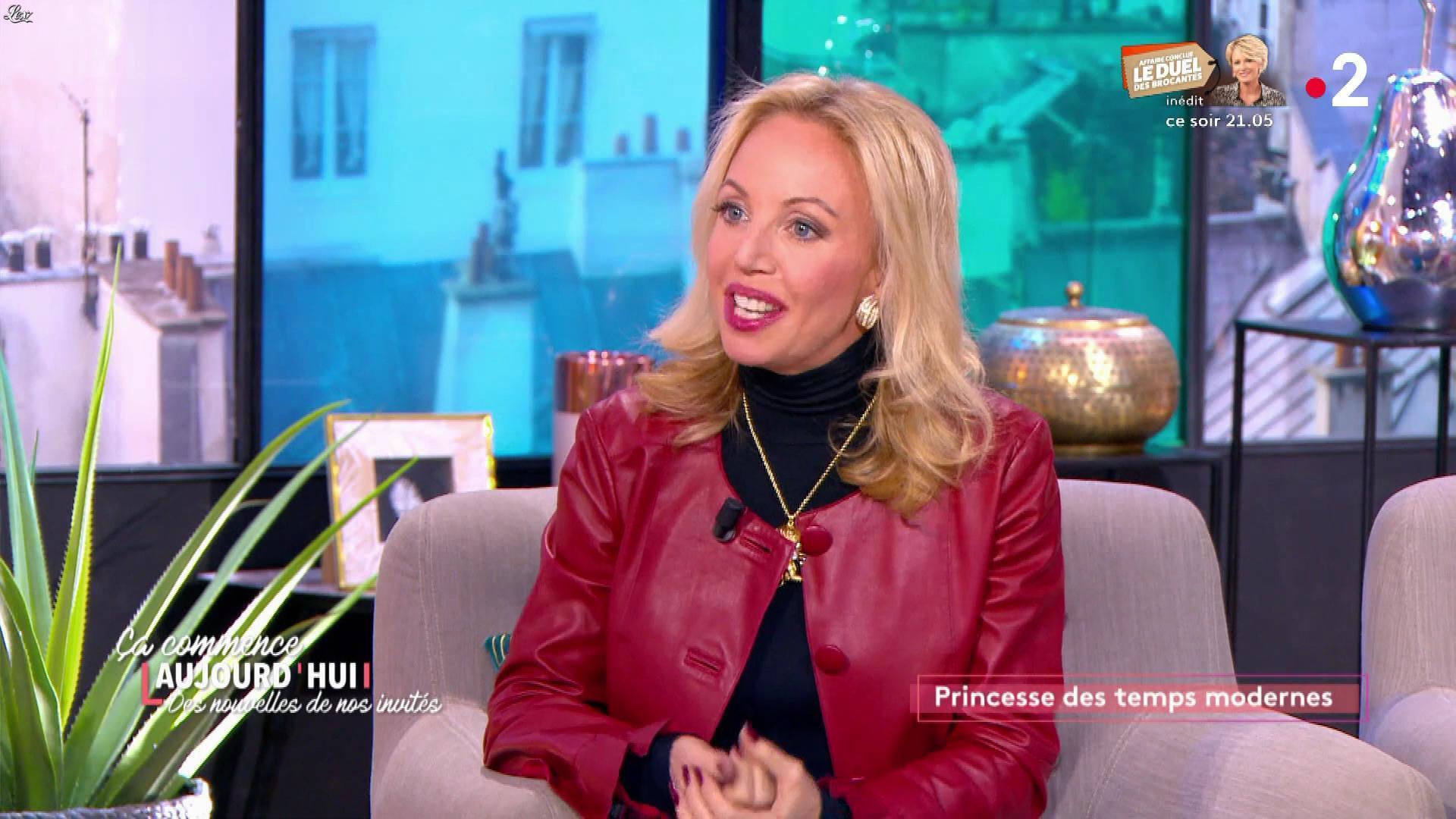 Camilla de Bourbon dans Ça Commence Aujourd'hui, Des Nouvelles.... Diffusé à la télévision le 14/01/20.