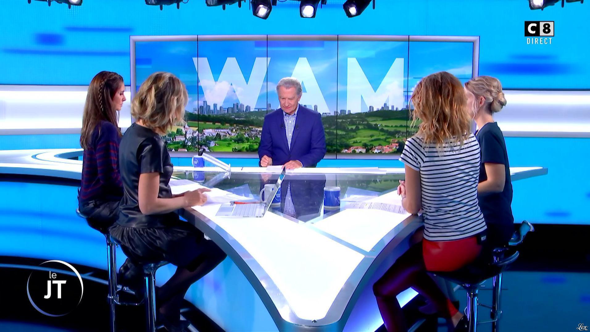 Caroline Delage, Caroline Ithurbide et Caroline Munoz dans William à Midi. Diffusé à la télévision le 11/10/19.