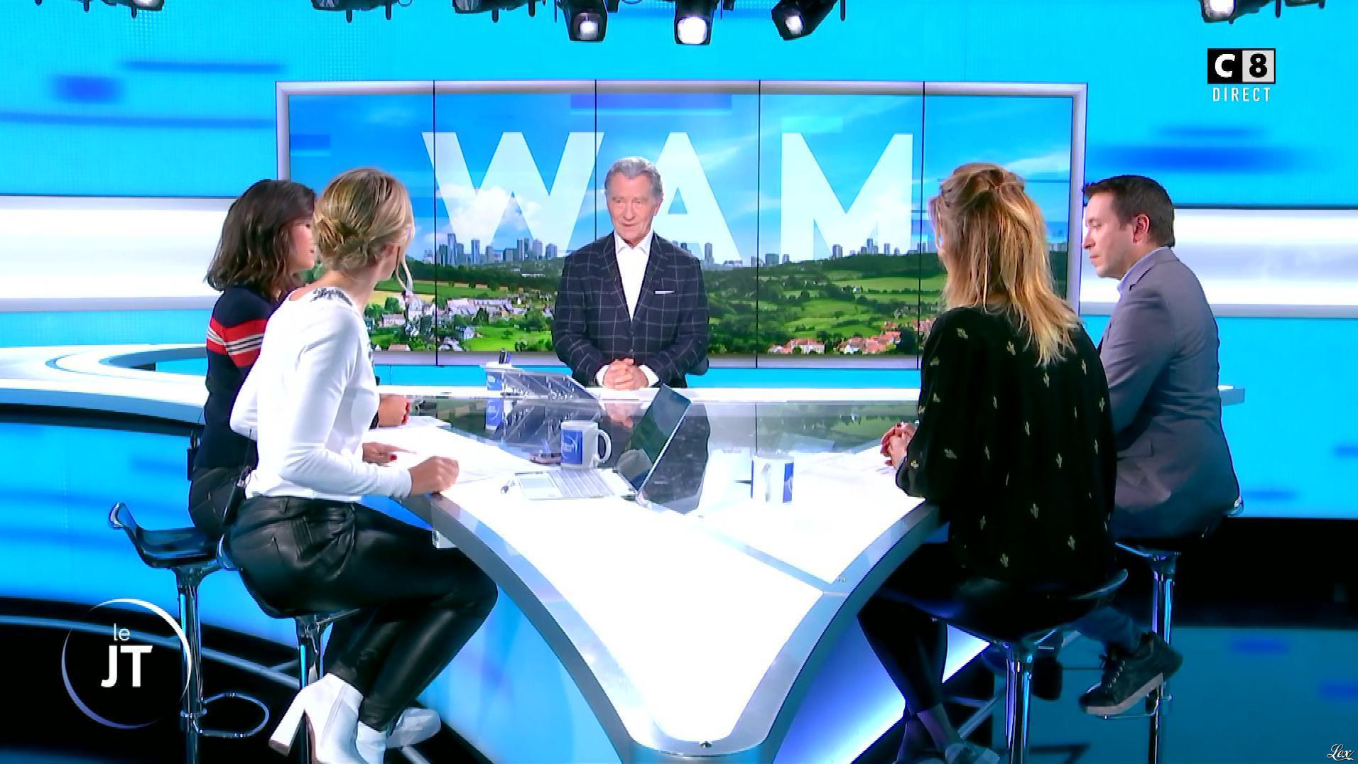 Caroline Delage et Caroline Ithurbide dans William à Midi. Diffusé à la télévision le 01/10/19.