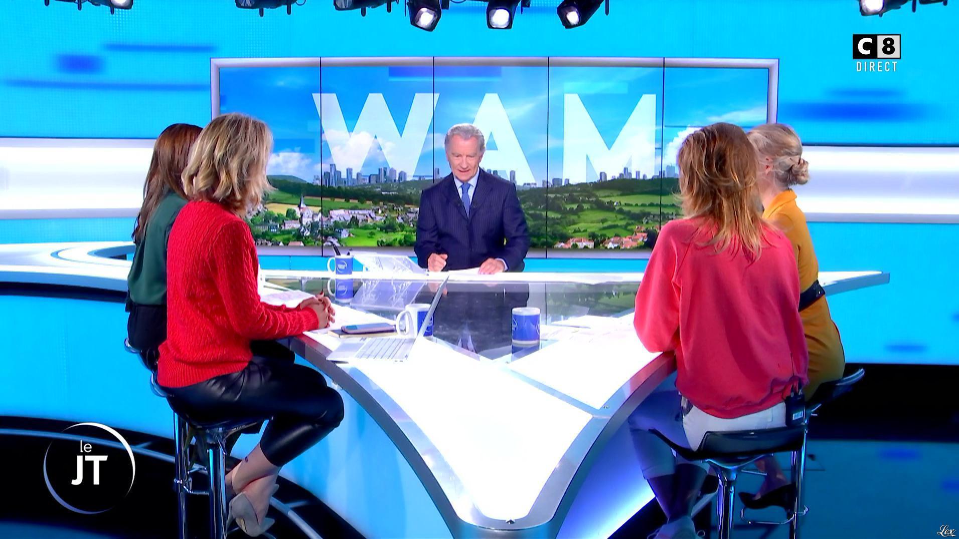 Caroline Delage et Caroline Ithurbide dans William à Midi. Diffusé à la télévision le 14/10/19.