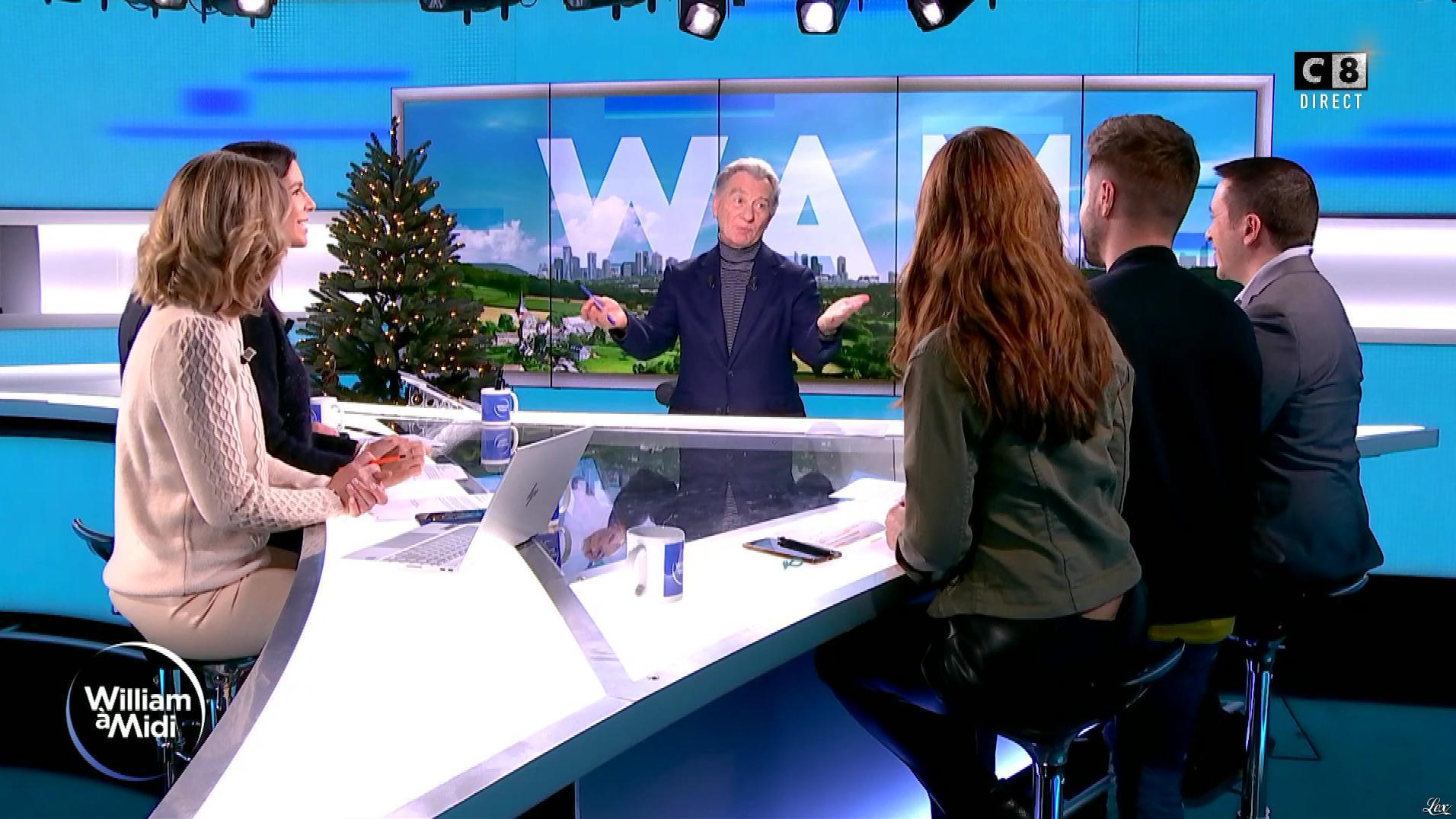 Caroline Delage, Caroline Munoz et Raphaële Marchal dans William à Midi. Diffusé à la télévision le 19/12/19.
