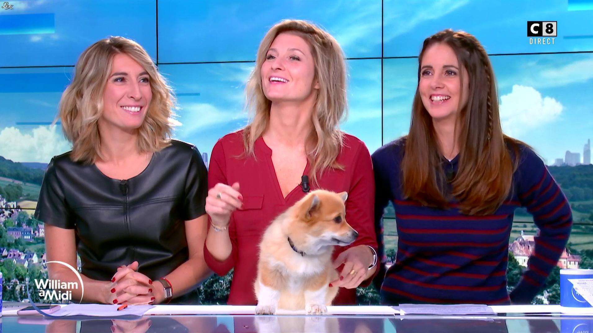 Caroline Delage et Caroline Munoz dans William à Midi. Diffusé à la télévision le 11/10/19.