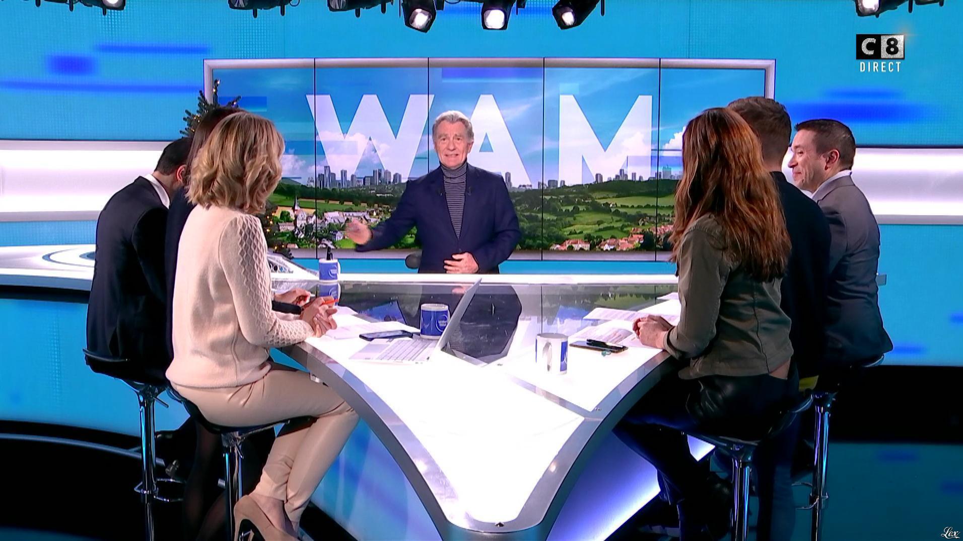 Caroline Delage et Caroline Munoz dans William à Midi. Diffusé à la télévision le 19/12/19.