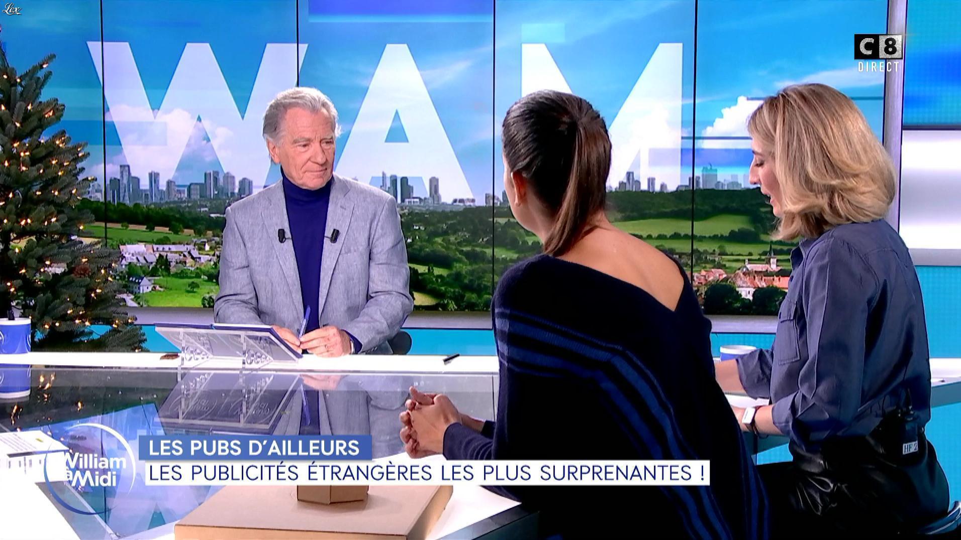 Caroline Delage et Raphaële Marchal dans William à Midi. Diffusé à la télévision le 10/12/19.