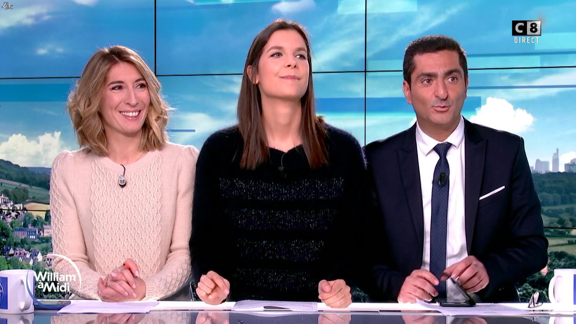 Caroline Delage et Raphaële Marchal dans William à Midi. Diffusé à la télévision le 19/12/19.