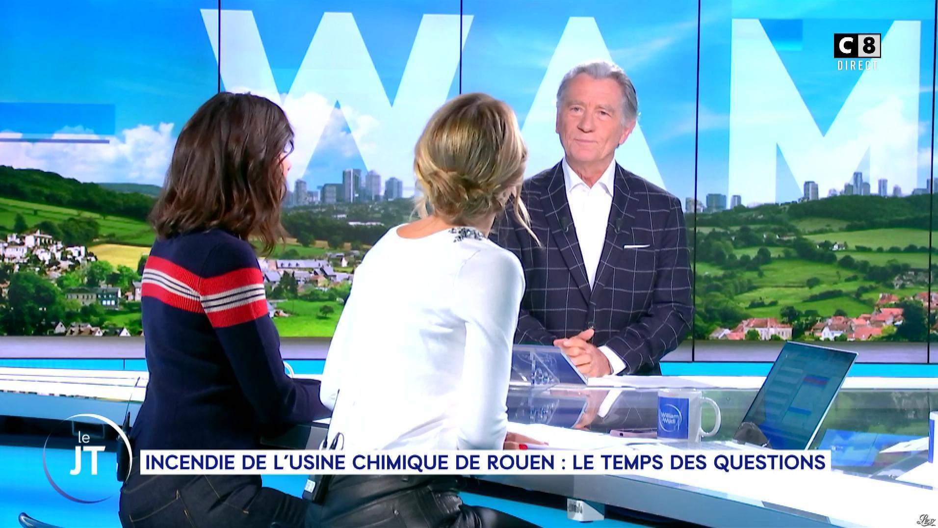 Caroline Delage dans William à Midi. Diffusé à la télévision le 01/10/19.