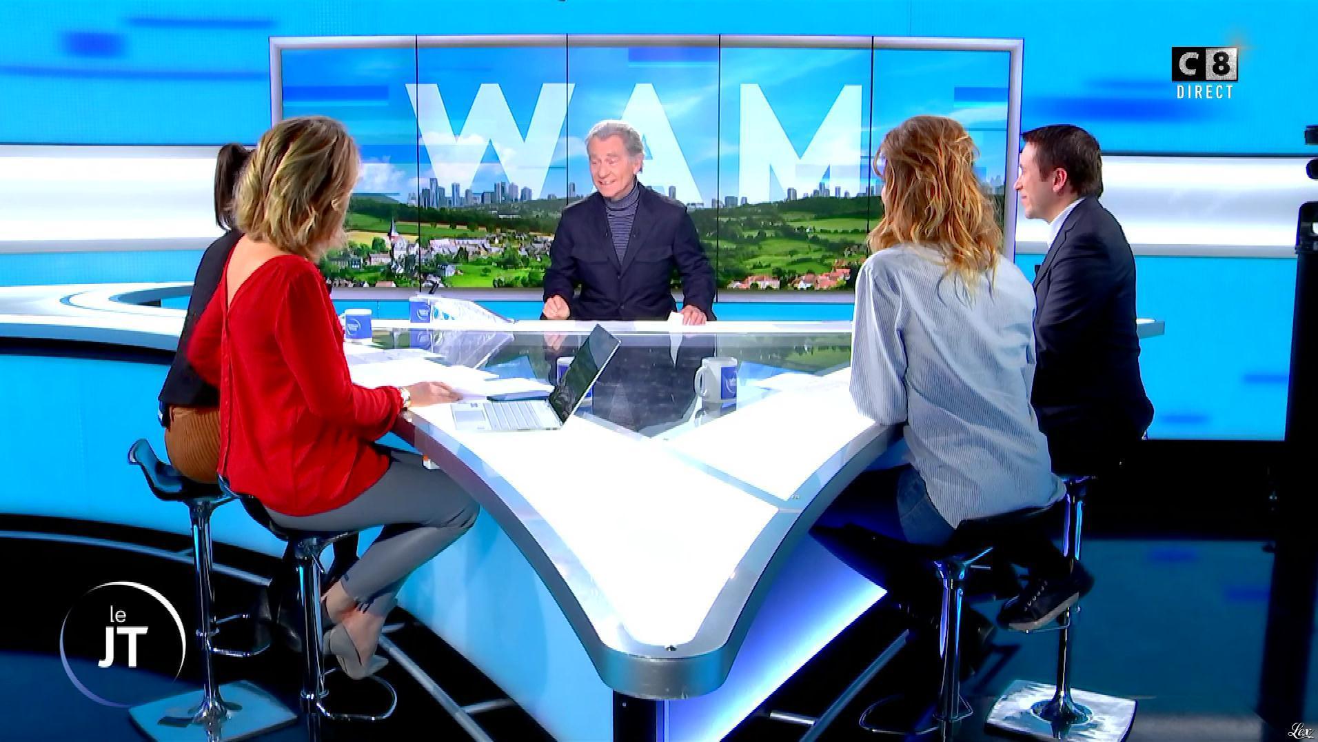 Caroline Delage dans William à Midi. Diffusé à la télévision le 03/12/19.