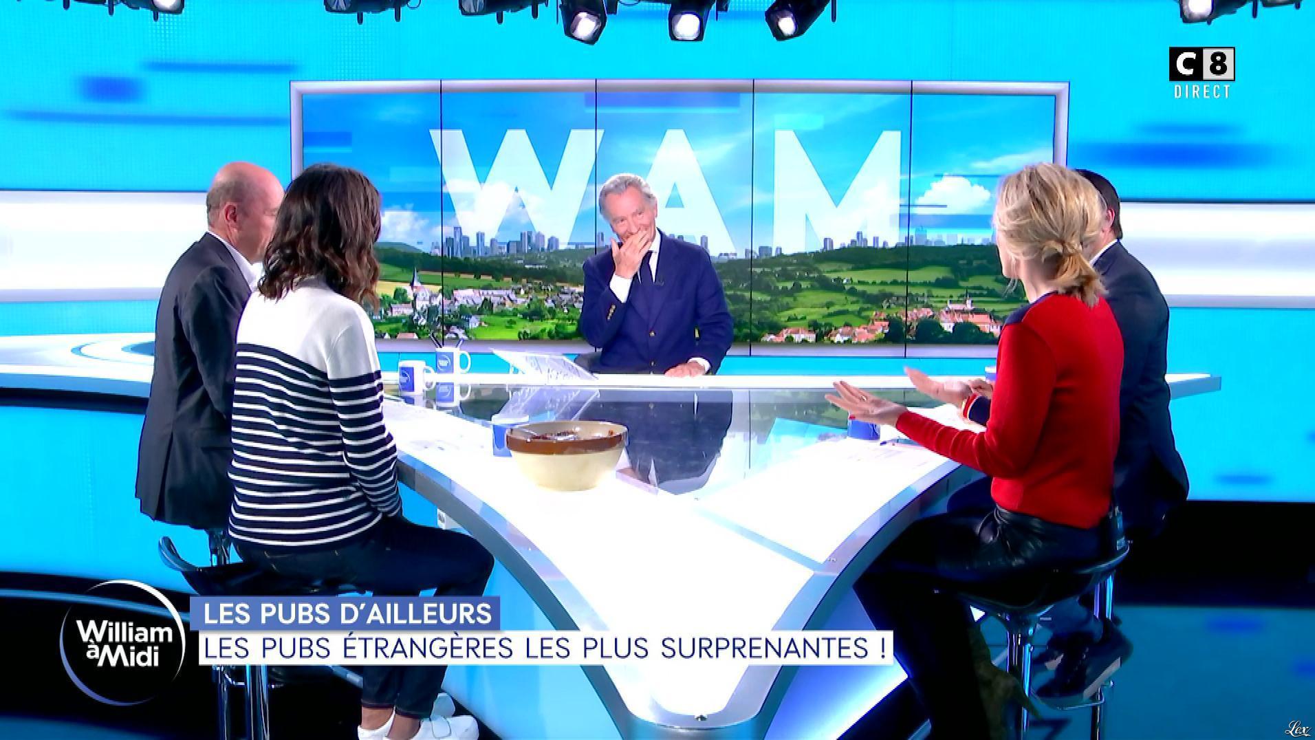 Caroline Delage dans William à Midi. Diffusé à la télévision le 09/10/19.