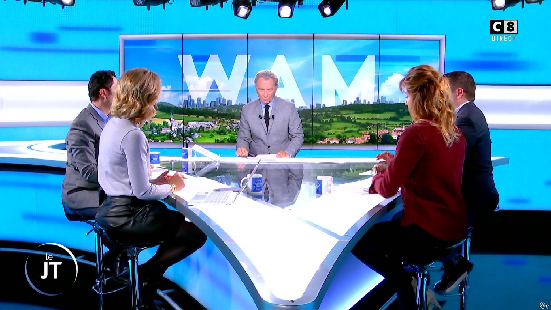 Caroline Delage dans William à Midi. Diffusé à la télévision le 23/10/19.