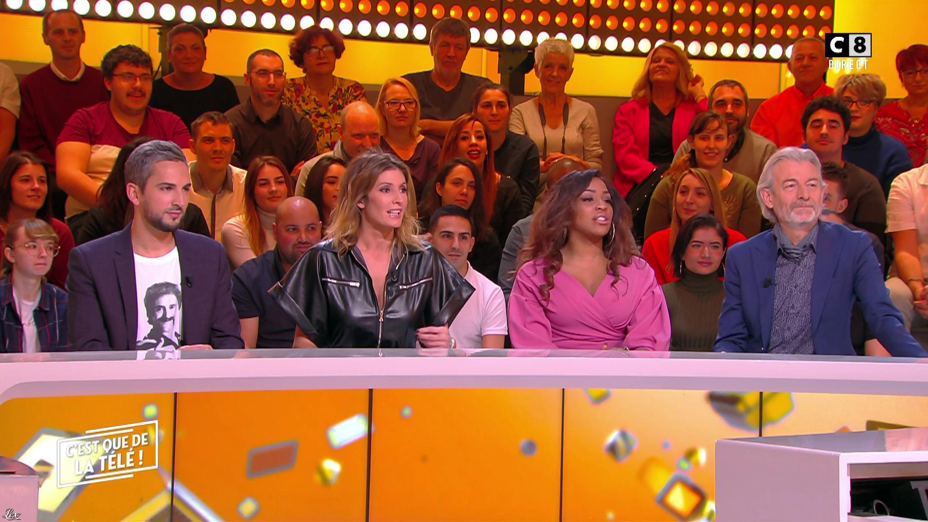 Caroline Ithurbide dans c'est Que de la Télé. Diffusé à la télévision le 12/11/19.