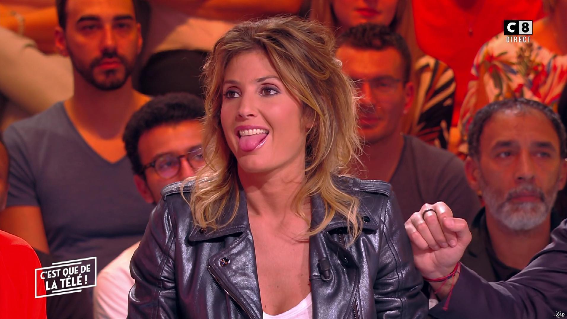 Caroline Ithurbide dans c'est Que de la Télé. Diffusé à la télévision le 20/05/19.