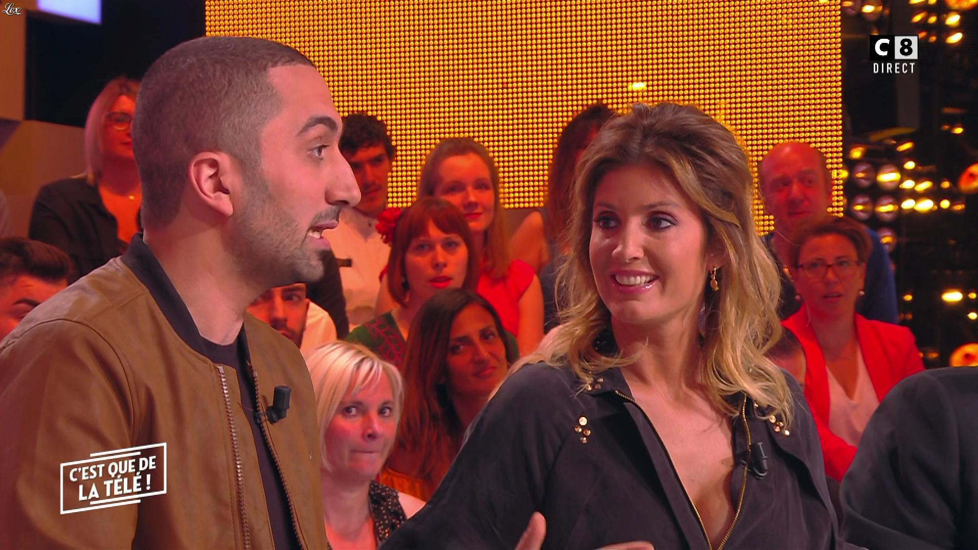 Caroline Ithurbide dans c'est Que de la Télé. Diffusé à la télévision le 23/05/19.