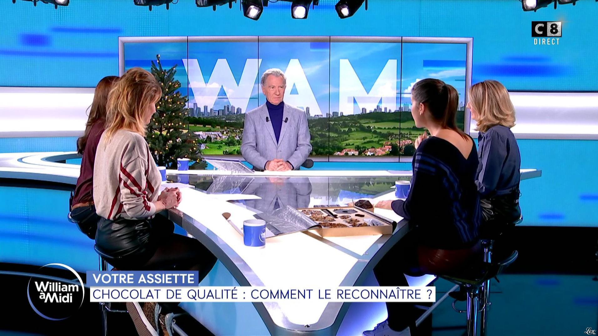 Caroline Ithurbide, Caroline Delage et Raphaële Marchal dans William à Midi. Diffusé à la télévision le 10/12/19.