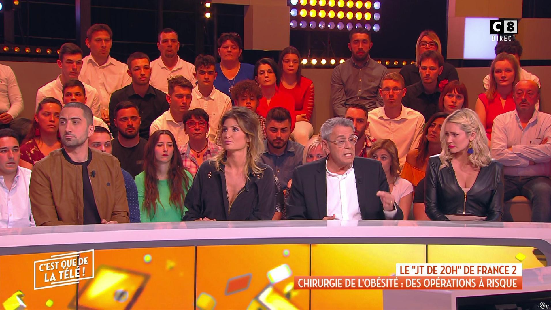 Caroline Ithurbide et Tatiana Laurens Delarue dans c'est Que de la Télé. Diffusé à la télévision le 23/05/19.