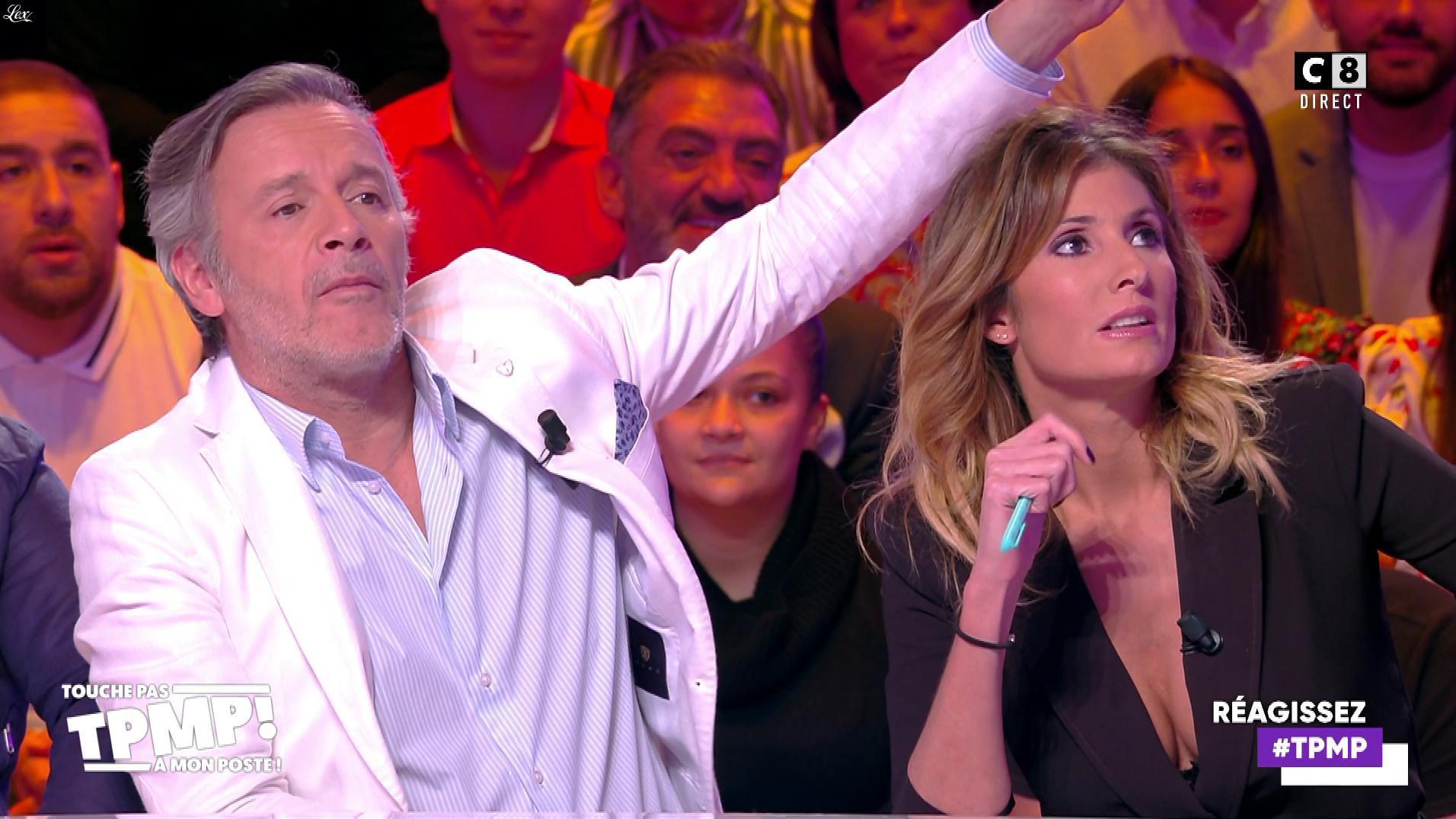 Caroline Ithurbide dans Touche pas à mon Poste. Diffusé à la télévision le 07/11/19.