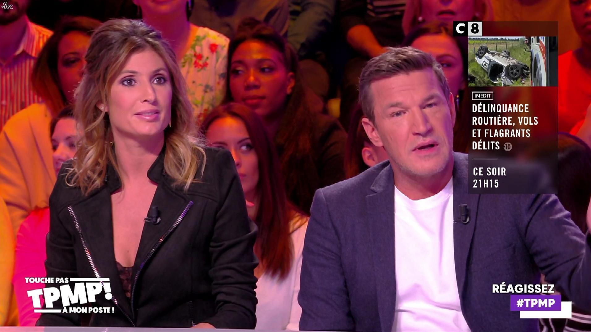 Caroline Ithurbide dans Touche pas à mon Poste. Diffusé à la télévision le 20/11/19.
