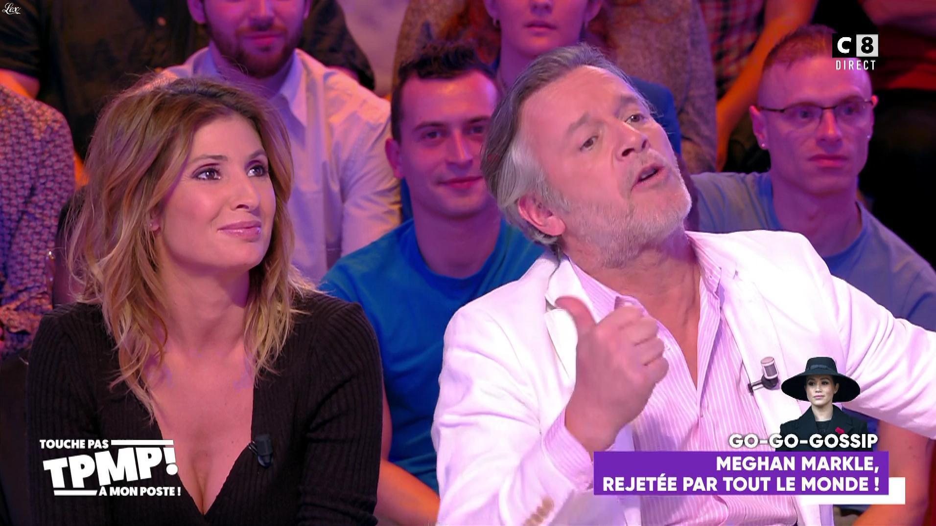 Caroline Ithurbide dans Touche pas à mon Poste. Diffusé à la télévision le 28/01/20.