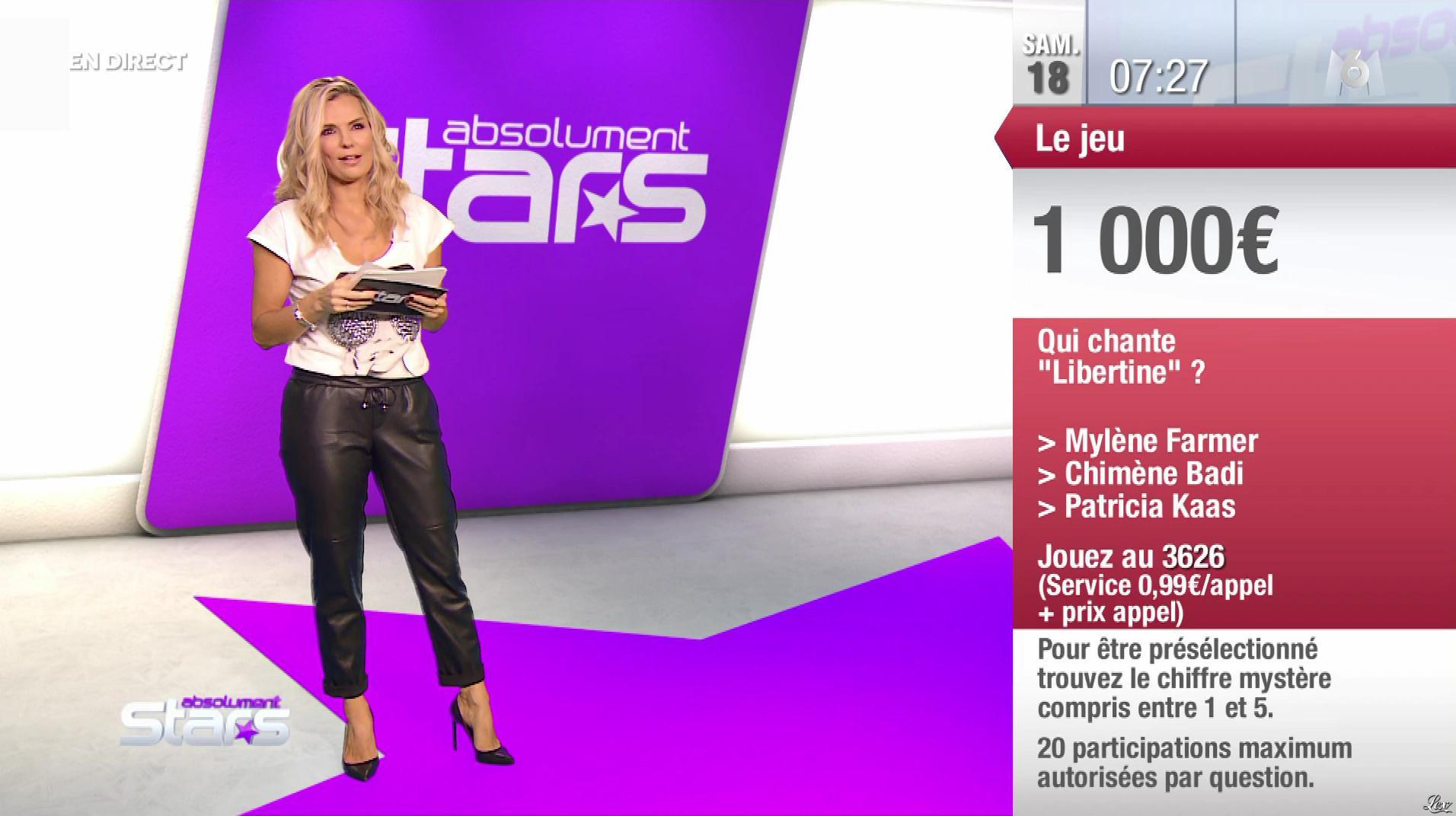 Claire Nevers dans Absolument Stars. Diffusé à la télévision le 18/01/20.