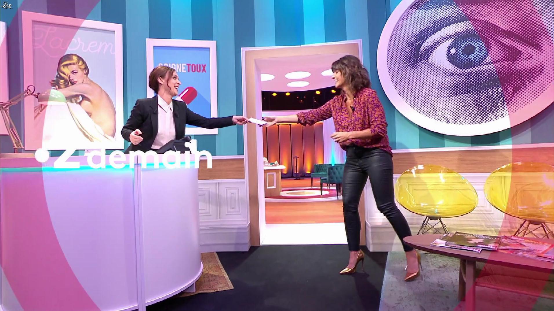 Faustine Bollaert dans une Bande-Annonce pour Ça Ne Sortira pas d'Ici. Diffusé à la télévision le 22/10/19.