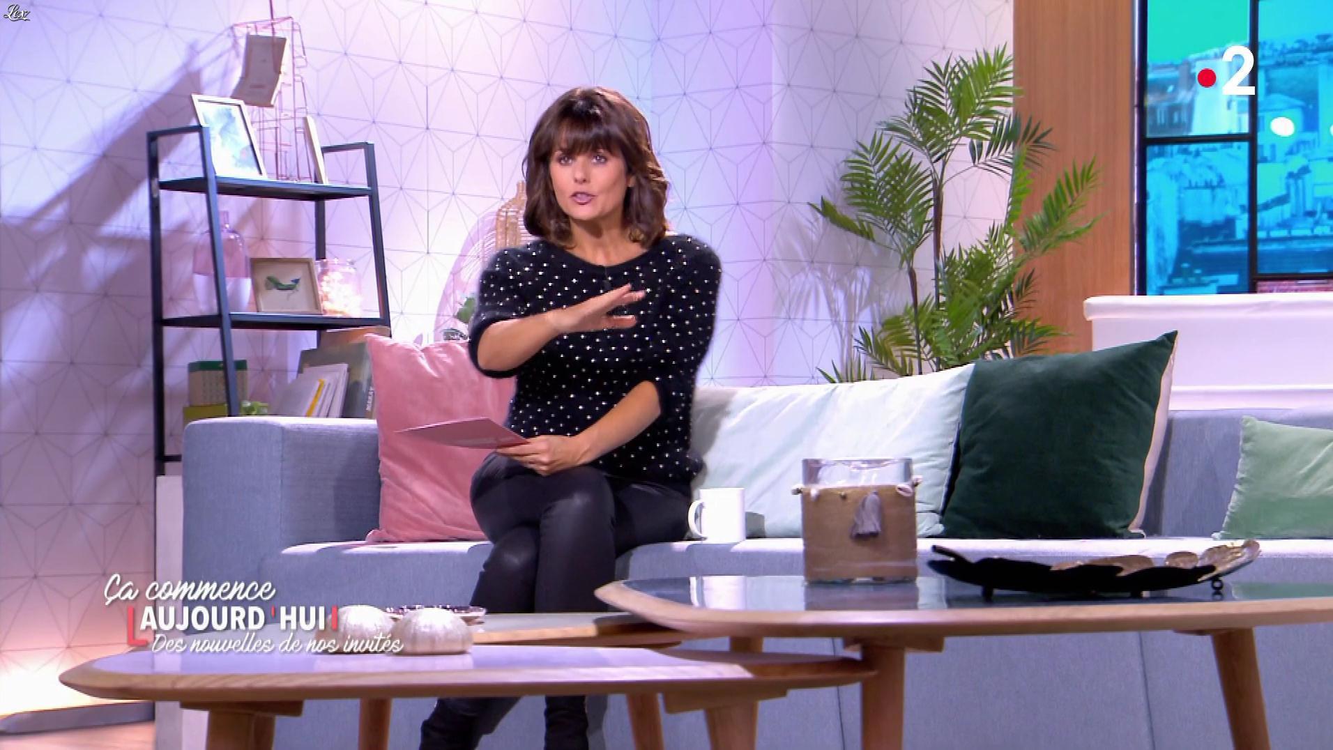 Faustine Bollaert dans Ça Commence Aujourd'hui, Des Nouvelles.... Diffusé à la télévision le 10/10/19.