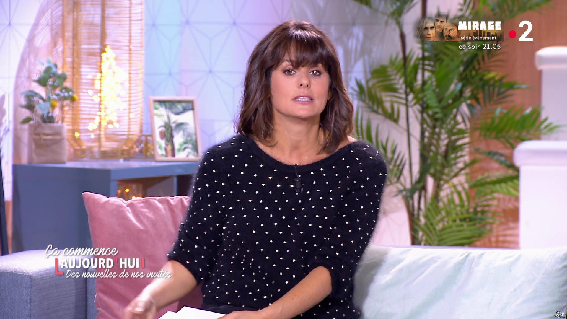 Faustine Bollaert dans Ça Commence Aujourd'hui, Des Nouvelles.... Diffusé à la télévision le 17/02/20.