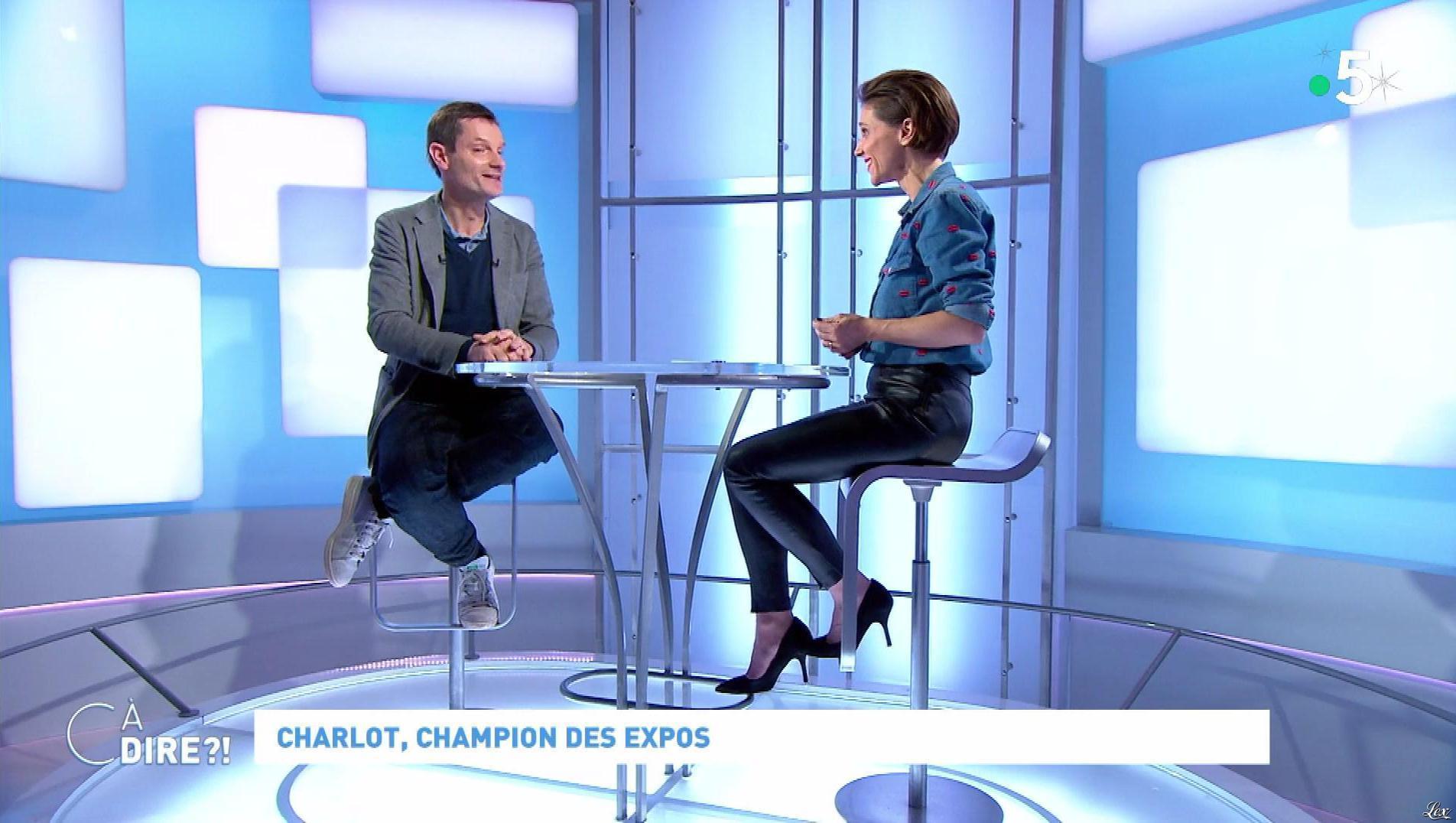 Mélanie Taravant dans C à Dire. Diffusé à la télévision le 10/12/19.