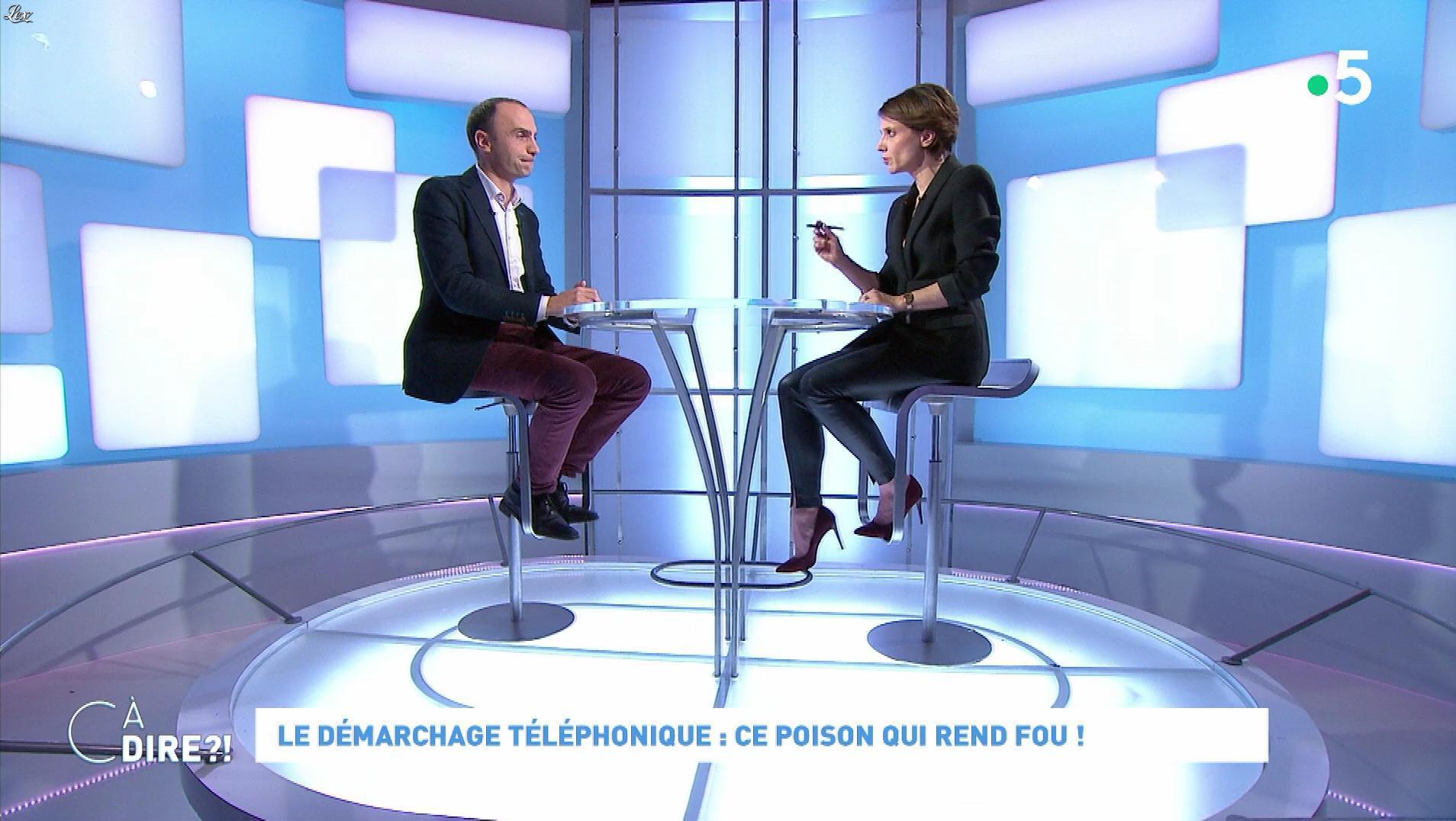 Mélanie Taravant dans C à Dire. Diffusé à la télévision le 20/01/20.