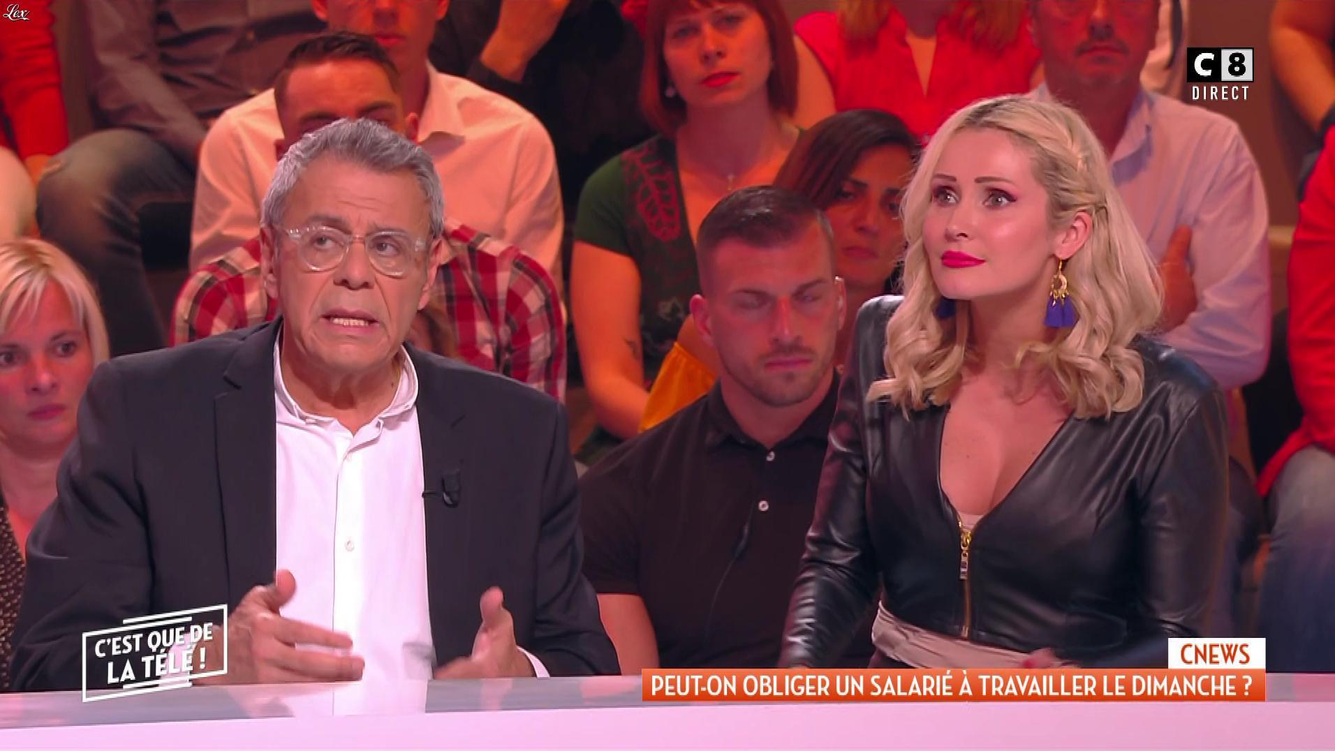 Tatiana Laurens Delarue dans c'est Que de la Télé. Diffusé à la télévision le 23/05/19.