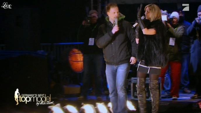 Heidi Klum dans Germany s Next Top Model. Diffusé à la télévision le 03/03/11.