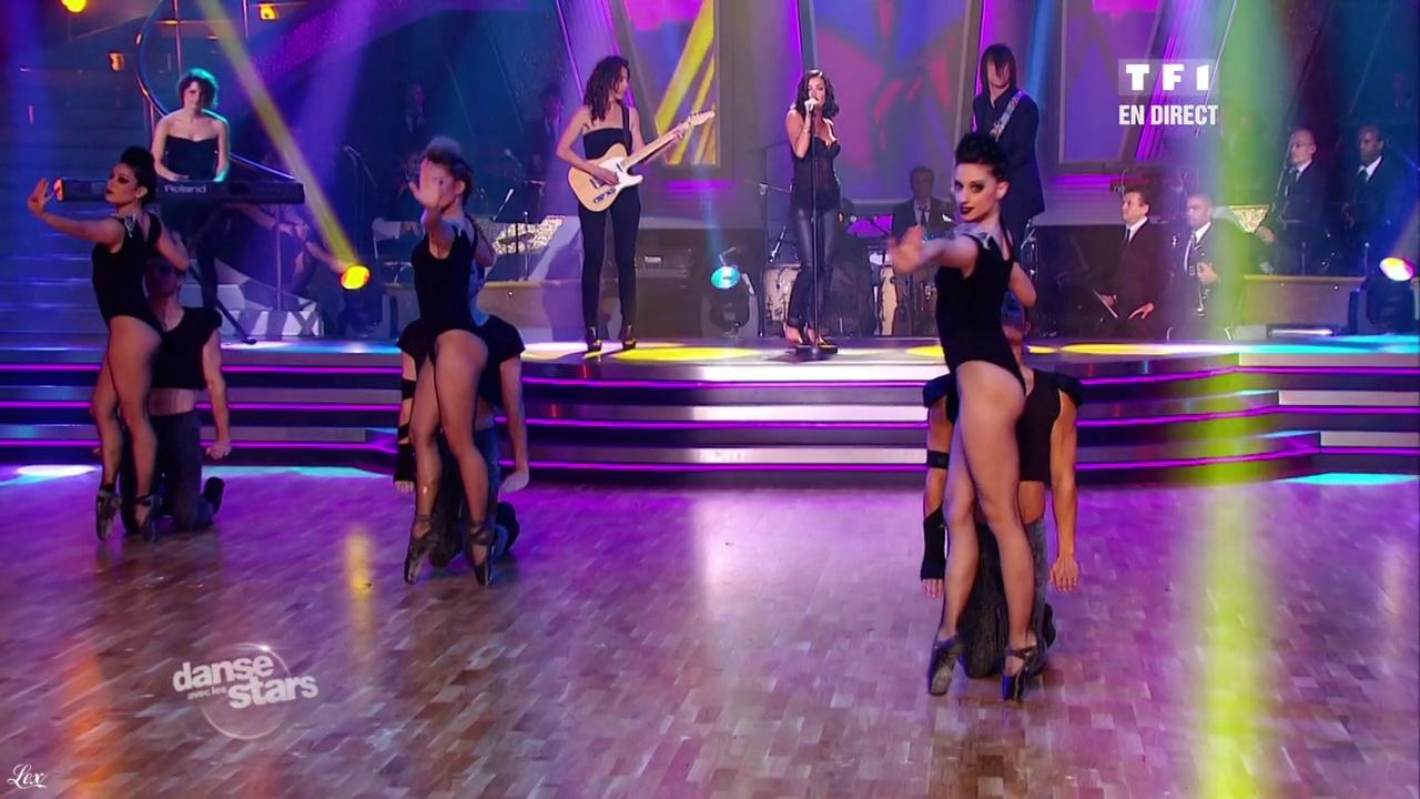 Jenifer Bartoli dans Danse Avec Les Stars. Diffusé à la télévision le 26/02/11.
