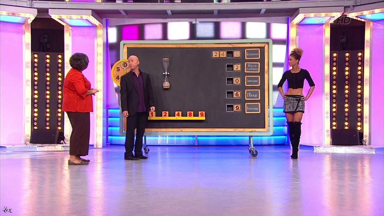 Doris Rouesne dans le Juste Prix. Diffusé à la télévision le 28/02/11.