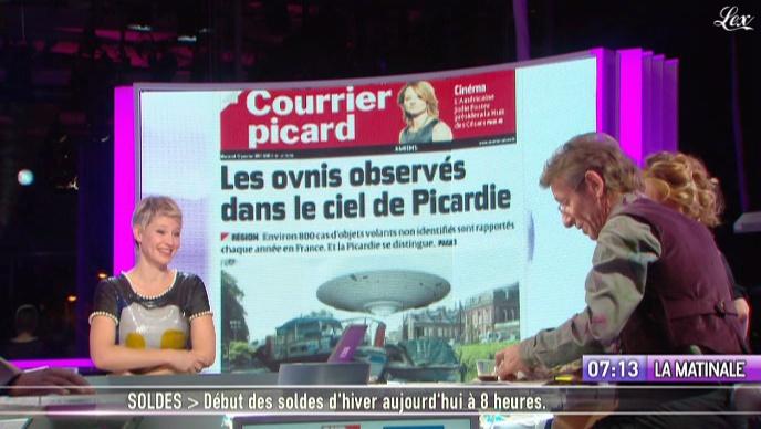 Maïtena Biraben dans la Matinale. Diffusé à la télévision le 12/01/11.
