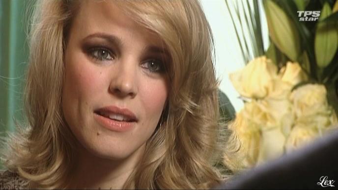 Rachel Mc Adams dans la Quotidienne Du Cinema. Diffusé à la télévision le 07/04/11.