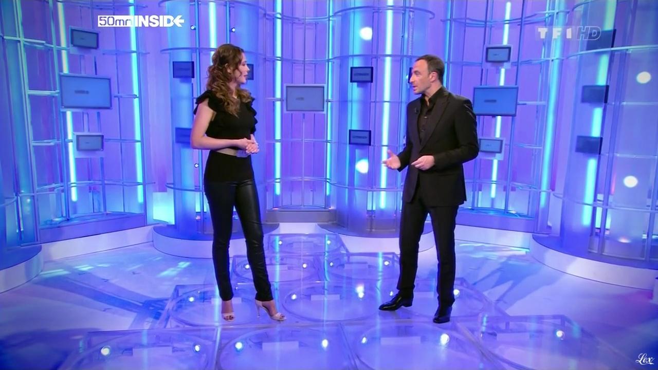 Sandrine Quétier dans 50 Minutes Inside. Diffusé à la télévision le 16/04/11.