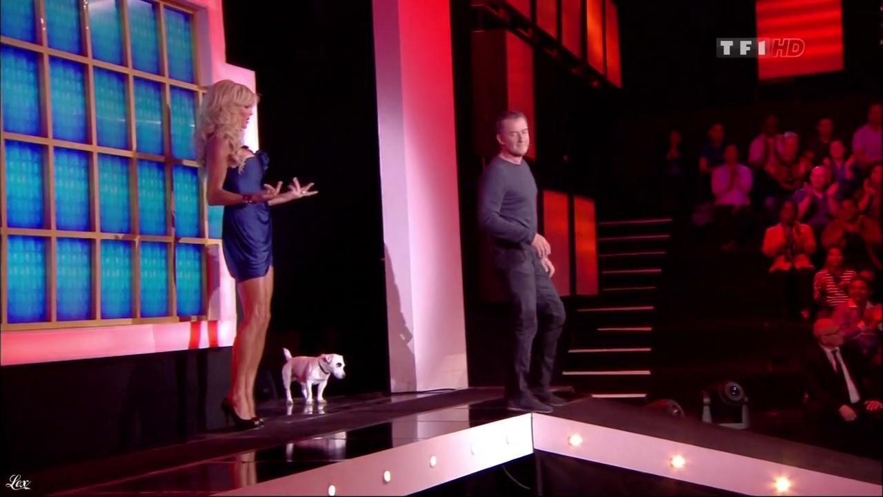 Victoria Silvstedt dans la Roue De La Fortune. Diffusé à la télévision le 18/05/11.