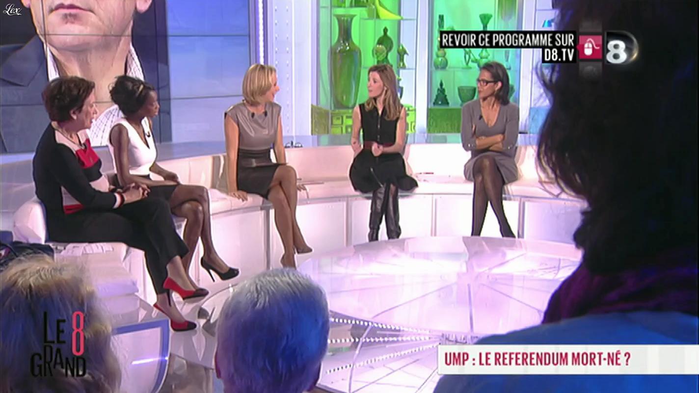Laurence Ferrari dans le Grand Huit. Diffusé à la télévision le 28/11/2012.
