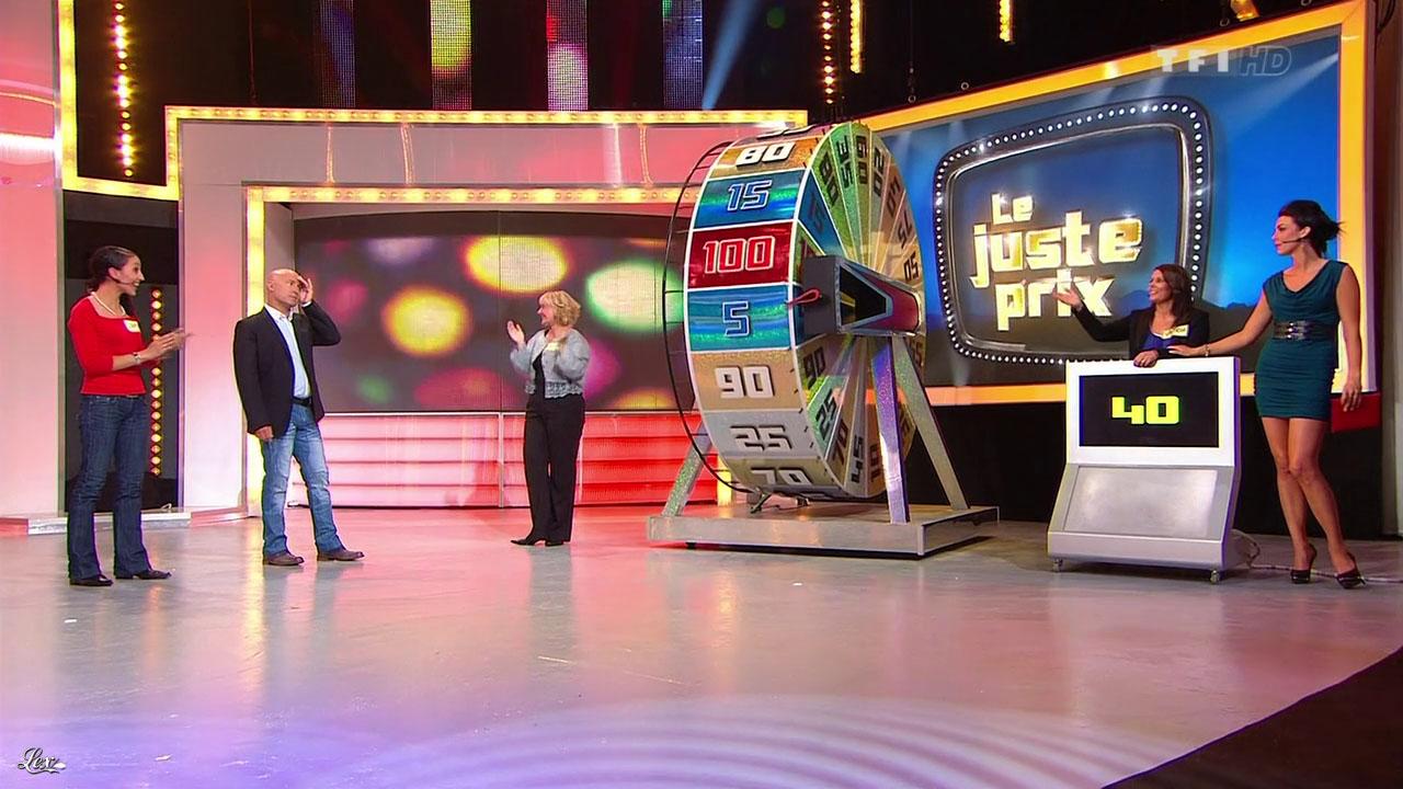 Fanny Veyrac dans le Juste Prix. Diffusé à la télévision le 06/09/12.