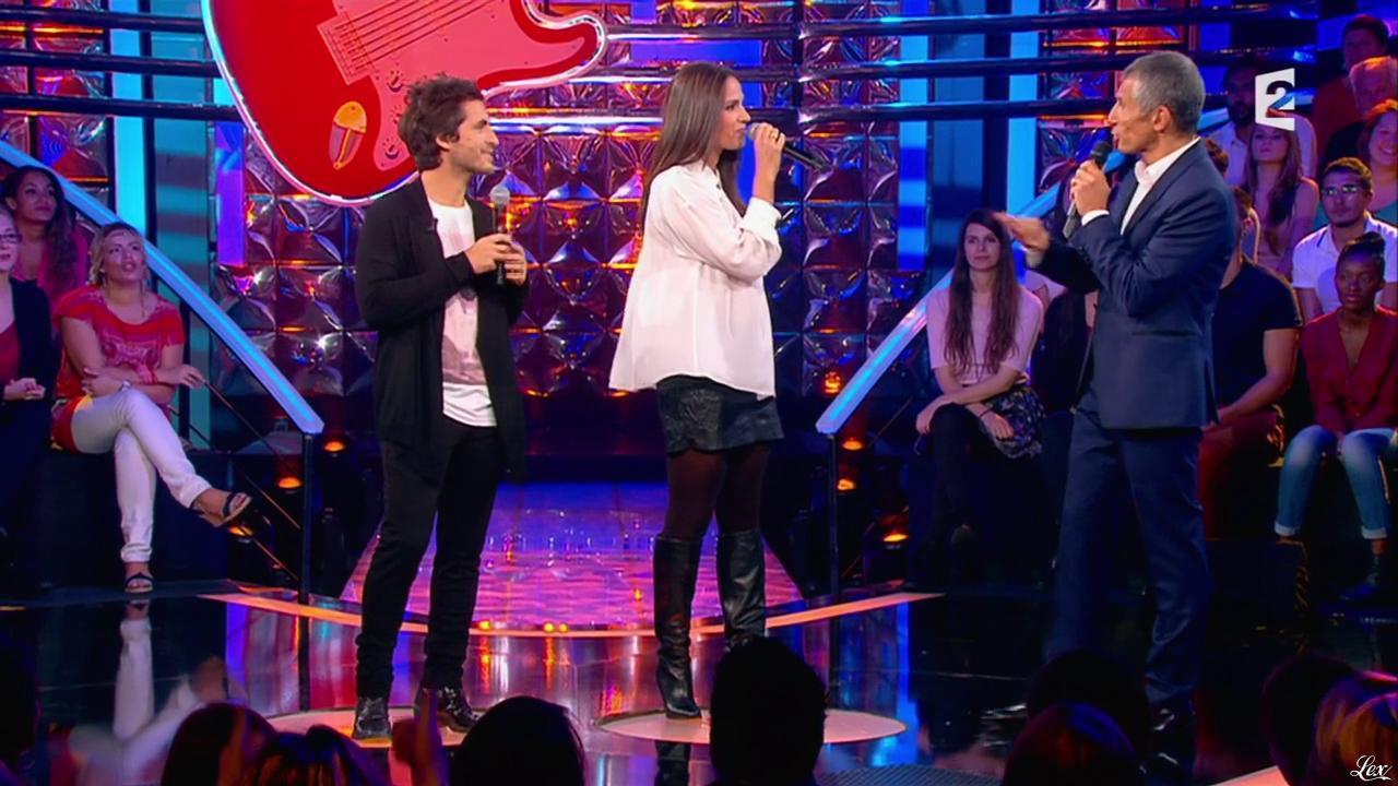 Elisa Tovati dans n'Oubliez pas les Paroles. Diffusé à la télévision le 12/10/13.
