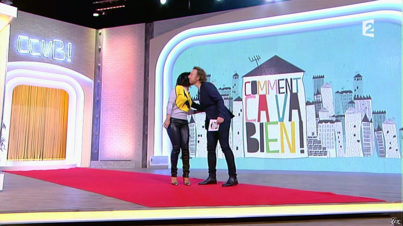 Alizée dans Comment Ça Va Bien. Diffusé à la télévision le 04/11/14.