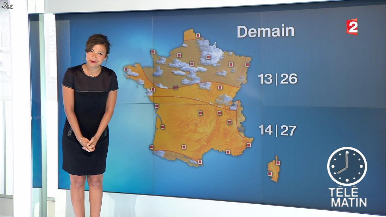 Anaïs Baydemir dans Télématin. Diffusé à la télévision le 03/09/14.