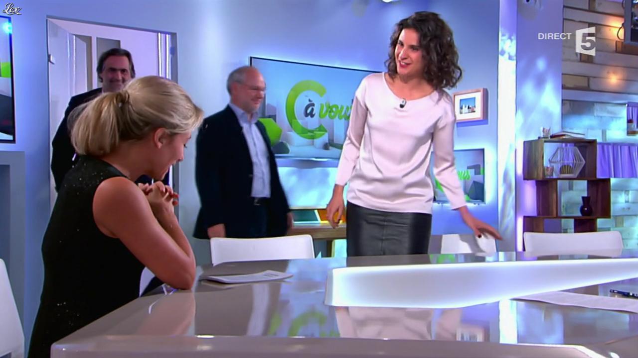 Apolline De Malherbe dans C à Vous. Diffusé à la télévision le 06/11/14.