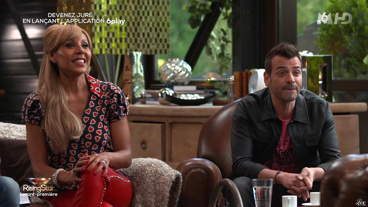 Cathy Guetta dans Rising Star. Diffusé à la télévision le 15/09/14.