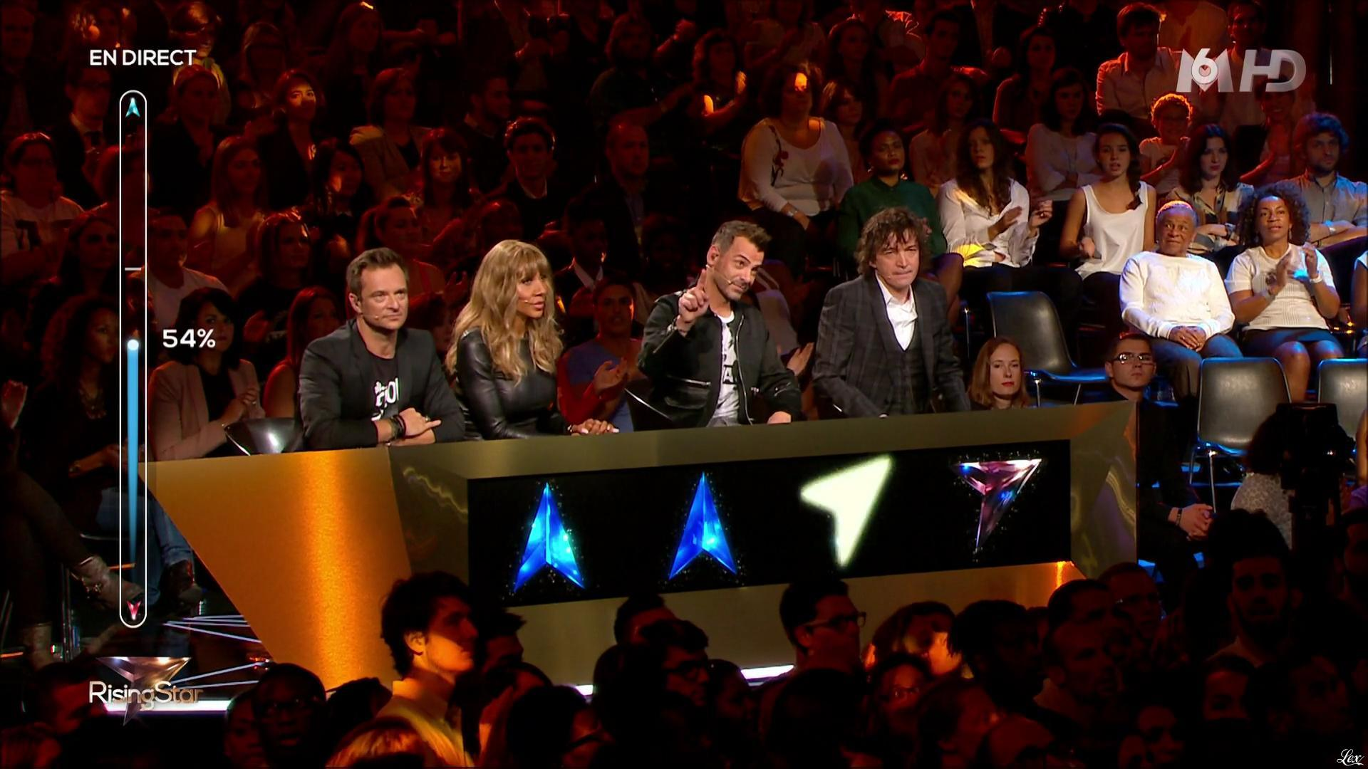 Cathy Guetta dans Rising Star. Diffusé à la télévision le 16/10/14.