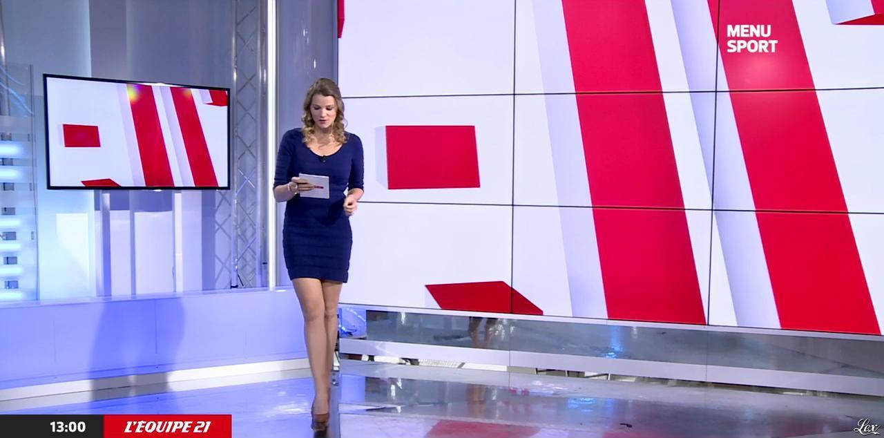 France Pierron dans Menu Sport. Diffusé à la télévision le 04/11/14.