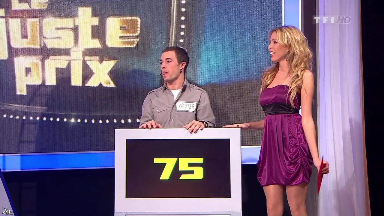 Nadia Aydanne dans le Juste Prix. Diffusé à la télévision le 29/12/10.