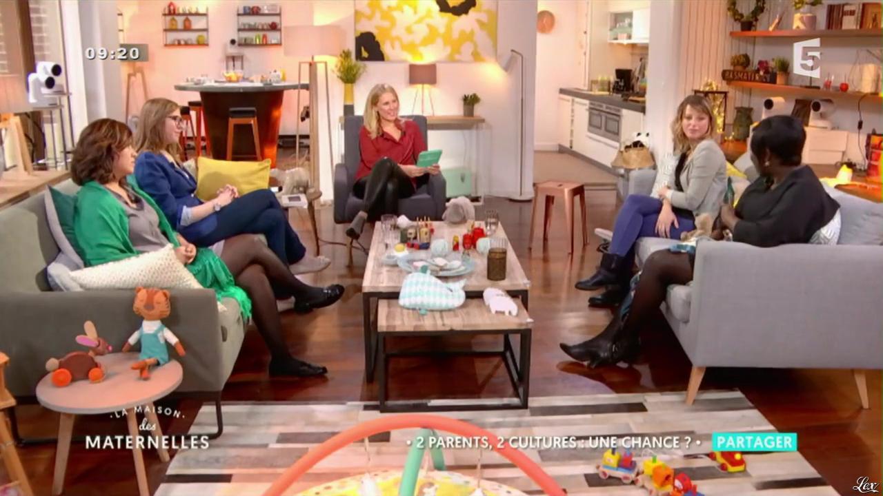 Agathe Lecaron dans la Maison des Maternelles. Diffusé à la télévision le 21/10/16.