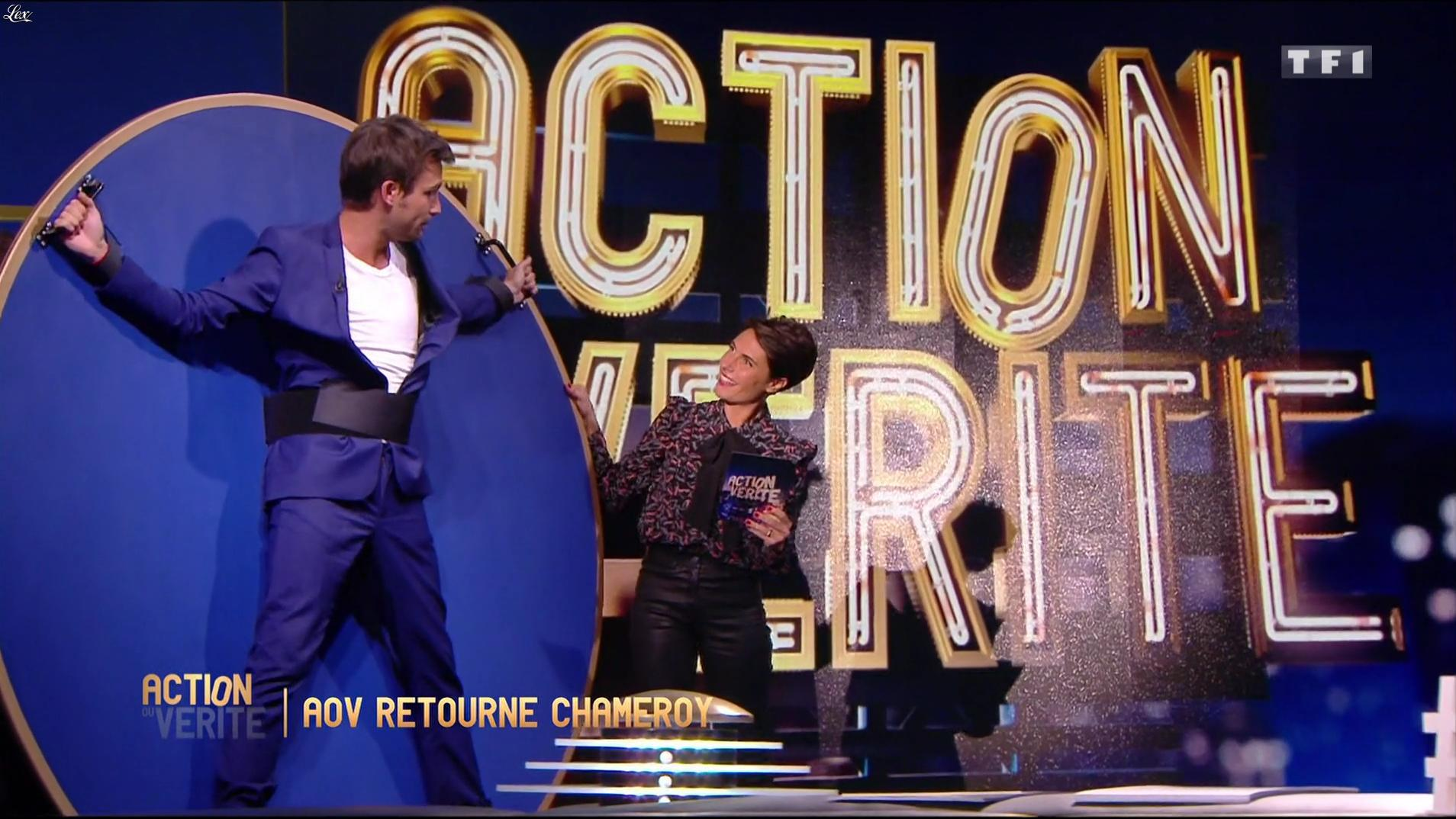 Alessandra Sublet dans Action ou Verite. Diffusé à la télévision le 28/10/16.