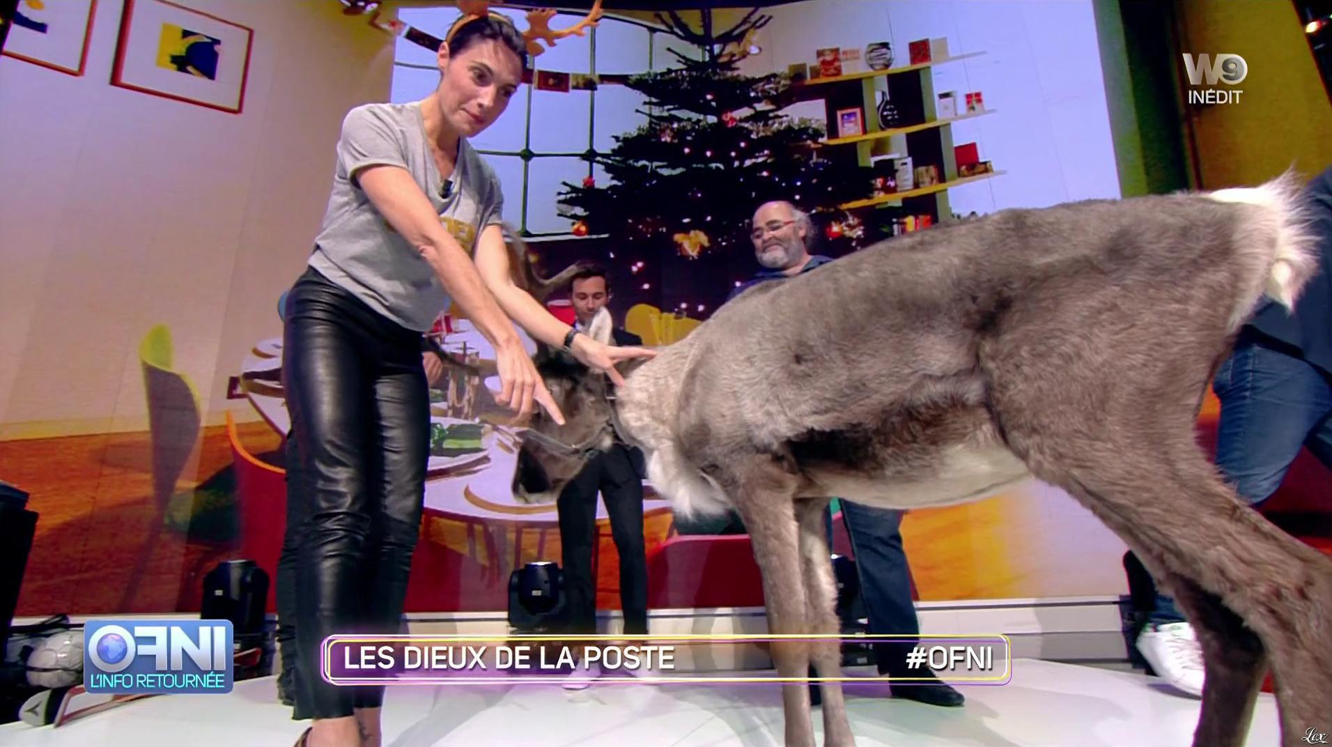 Alessandra Sublet dans OFNI. Diffusé à la télévision le 18/10/16.